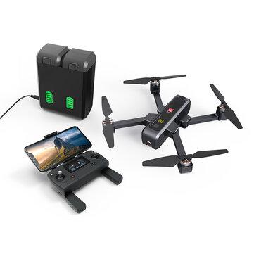 MJX B4W 5G WIFI FPV With 4K HD Camera Ultrasonic GPS Foldable Brushless RC Drone Quadcopter RTF