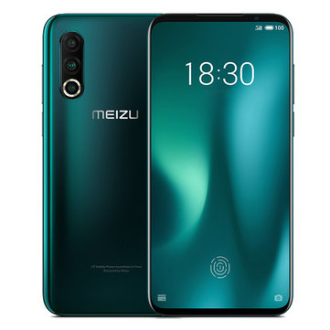 Meizu 16s Pro 6.2 inch 48MP Triple Rear Camera NFC 8GB RAM 128GB ROM Snapdragon 855 Plus Octa core 4G Smartphone Smartphones from Mobile Phones & Accessories on banggood.com