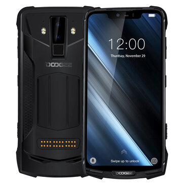 DOOGEE S90C Global Bands IP68 Waterproof 6.18 inch FHD+ NFC 5050mAh 16MP+8MP AI Dual Rear Cameras 4GB 64GB Helio P70 Octa Core 4G Smartphone  Smartphones from Mobile Phones & Accessories on banggood.com