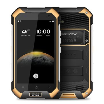 £101.39 % BLACKVIEW BV6000S 4.7 inch 4200mAh NFC IP68 Waterproof Shockproof Duskproof 2GB 16GB MT6737T Quad Core 4G Smartphone Smartphones from Mobile Phones & Accessories on banggood.com