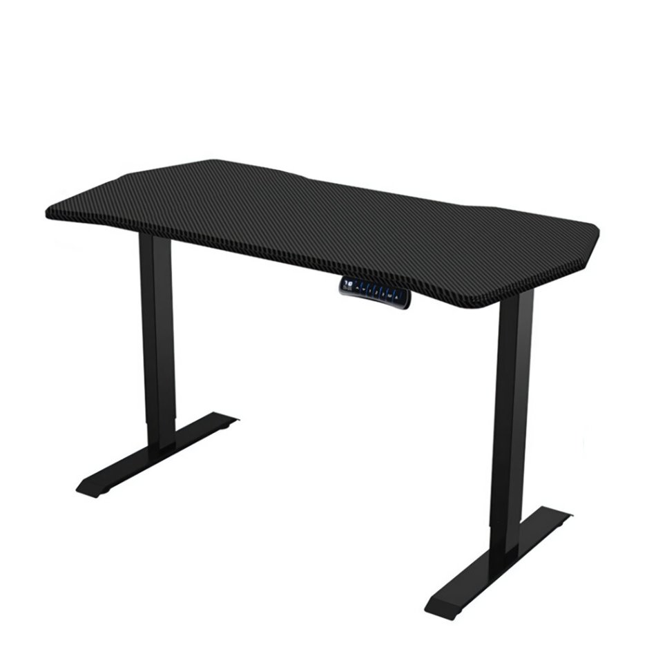 Loctek 55-inch Electric Height Adjustable Desk Standing Office Carbon Table Laptop Desk from XIAOMI YOUPIN