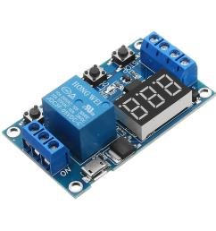 6 30v 1 channel relay module switch trigger time delay circuit timer cycle adjustable cod [ 1000 x 1000 Pixel ]