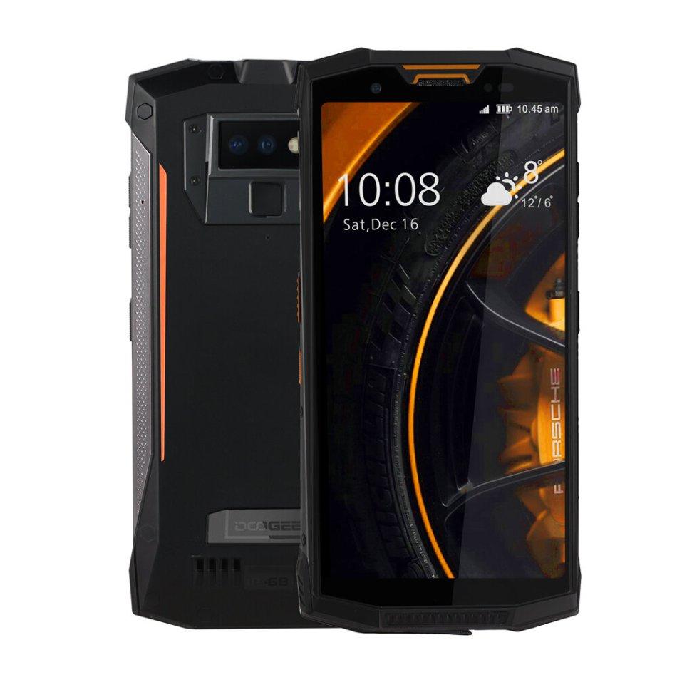 DOOGEE S80 Global Bands 5.99 Inch IP68 Waterproof 10080mAh 6GB RAM 64GB ROM MT6763T Octa Core 4G Smartphone