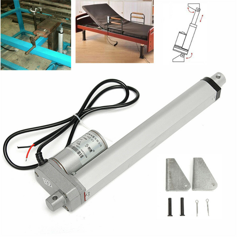 hight resolution of 12v 50mm s 100n linear actuator motor high speed 100mm electric door opener cod