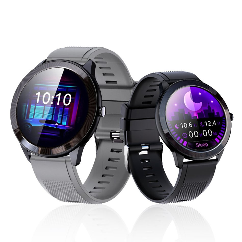 Bakeey SN95 BT5.0 Heart Rate Monitor Blood Pressure Blood Oxygen Monitor Breath Training 45 Days Long Standby Weather Push DIY Dials Smart Watch