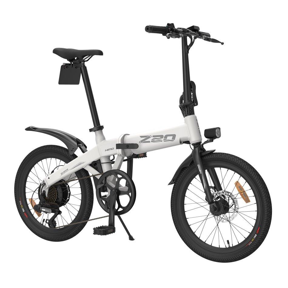 [EU DIRECT] HIMO Z20 10AH 36V 250W Folding Electric Bike 20inch Tire 25km/h Top Speed 80km Mileage Range 6-speed Transmission Smart Display Dual Disc Brake