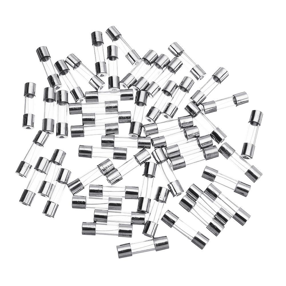 glass cartridge fuse tube box 5*20mm 0.5a~20a 250v fast