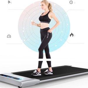 Στα 219€ από Τσέχικη αποθήκη | KALOAD 50W 42cm Wide Tread Belt Treadmill 6 Modes Max Speed 6k/h APP/Remote Control Electric Fitness Walkingpad Machine for Family Max Load 90kg