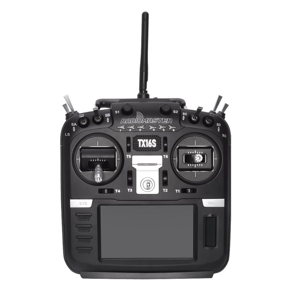 RadioMaster TX16S Hall Sensor Gimbals 2.4G 16CH Multi-protocol RF System OpenTX Mode2 Transmitter for RC Drone