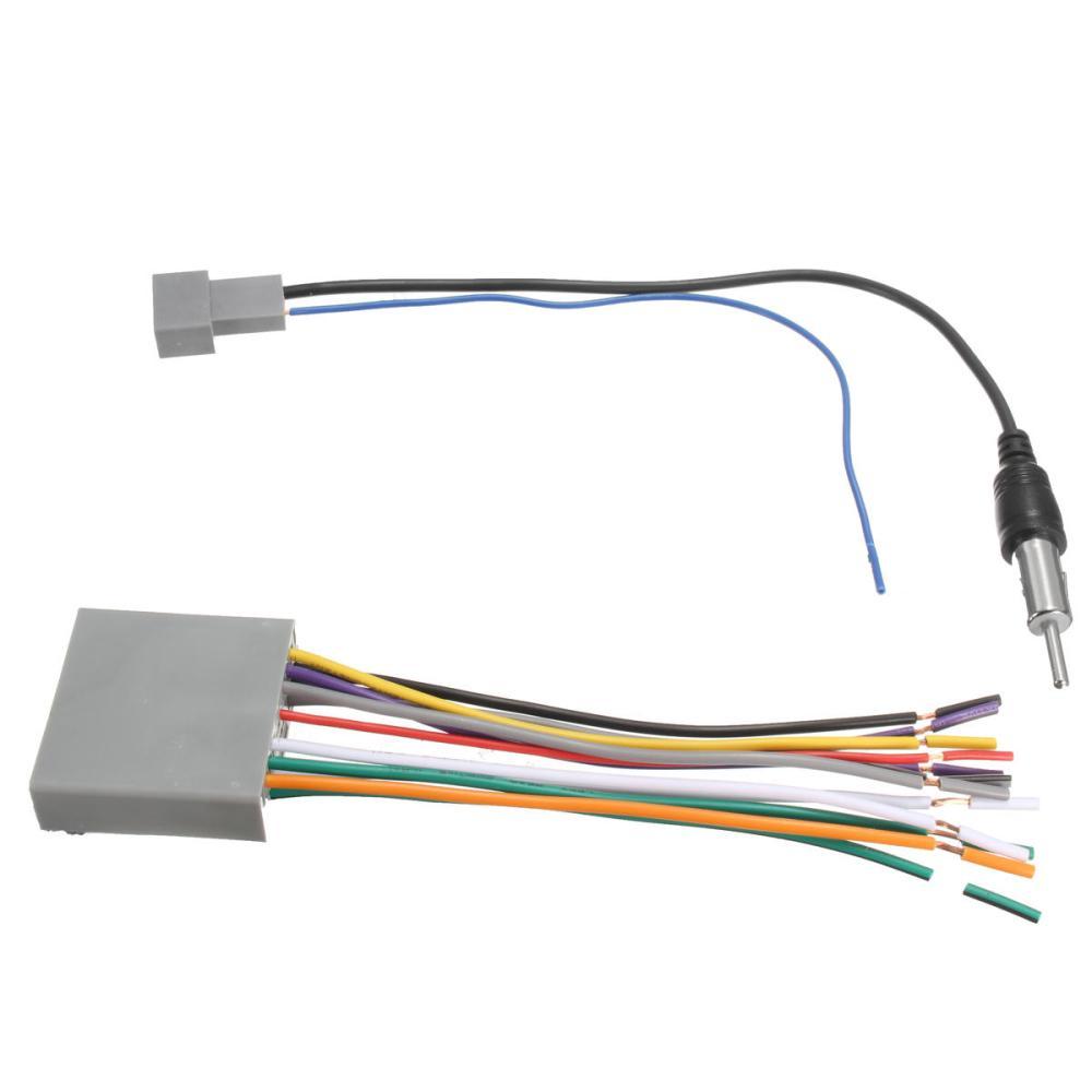 medium resolution of car stereo radio player wire harness dvd antenna for honda odyssey civic cr v cod