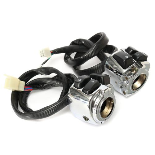 small resolution of 1 inch handlebar control switches with wiring harness for harley motorcycle sale banggood com sold out