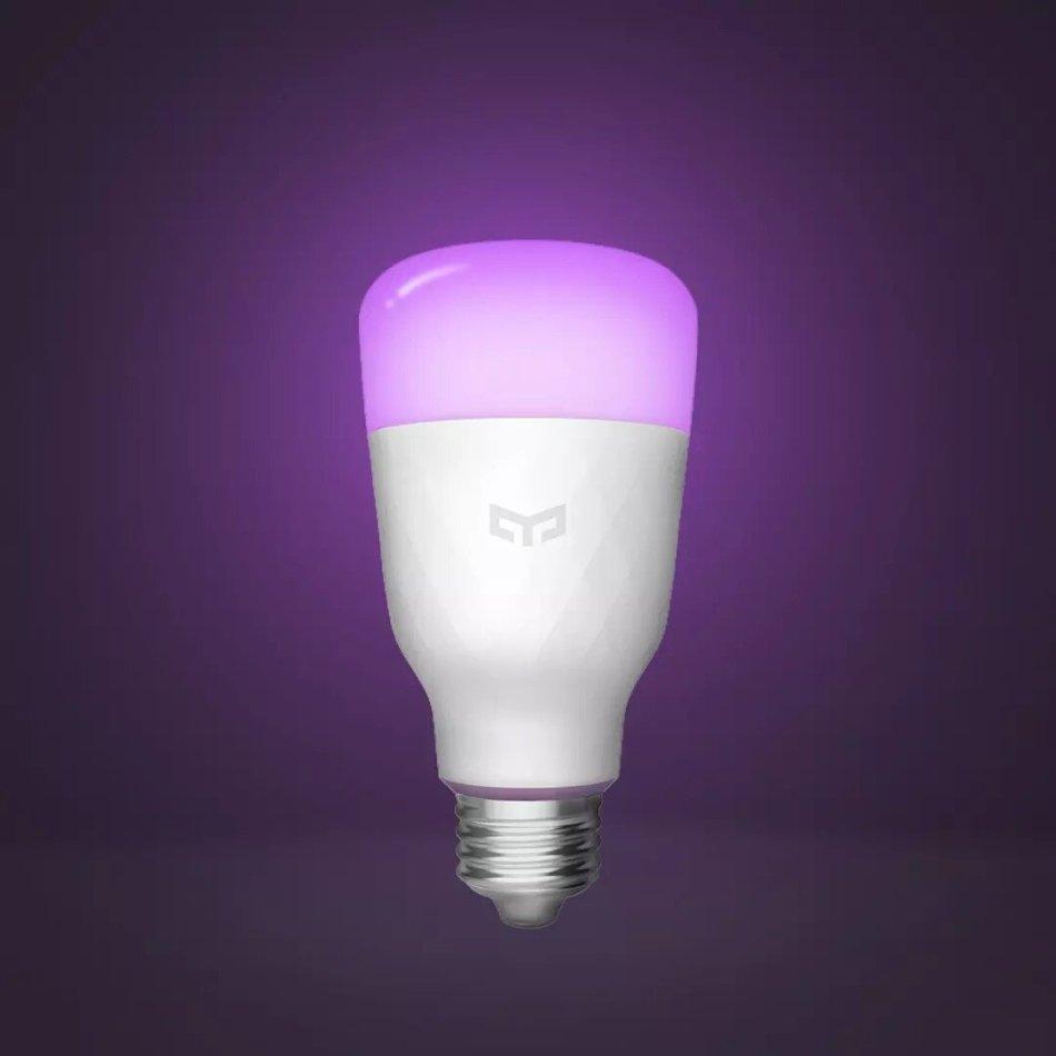 5pcs Yeelight 1S YLDP13YL AC100-240V E27 8.5W RBGW Smart LED Bulb Work With Homekit