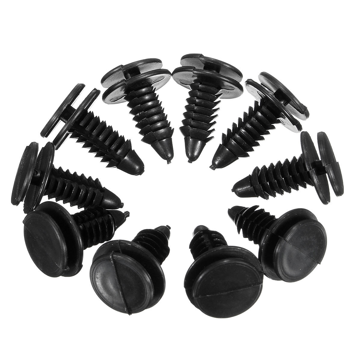 hight resolution of 10 interior door trim plastic panel retainers clips for ford trucks f 150 f 250 cod