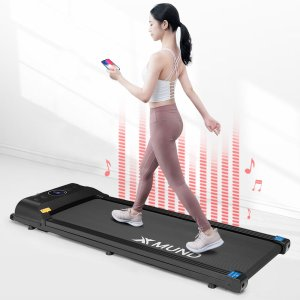 Στα €207.13 από αποθήκη Τσεχίας | XMUND® XD-T1 Treadmill Portable Folding Walking Pad 12 Preset Gears LCD Display Remote Control Bluetooth Speaker Home Fitness Equipment