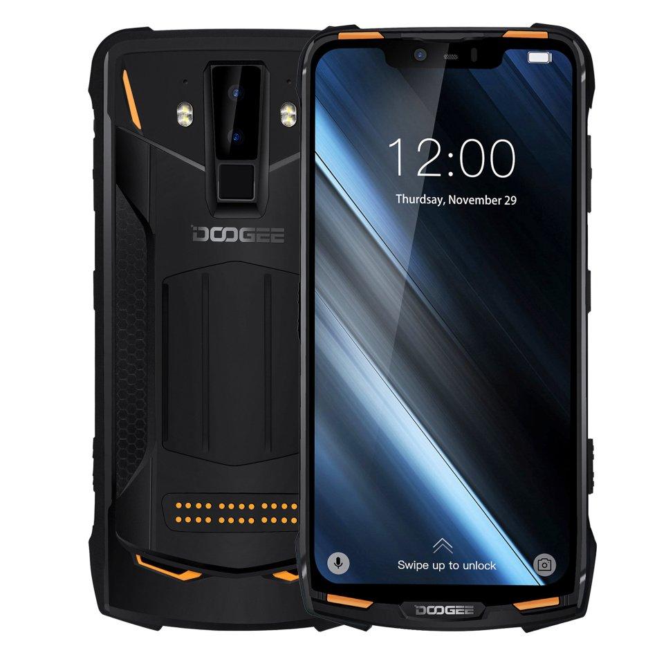 DOOGEE S90 Power Bundle 6.18 Inch FHD+ IP68 Waterproof NFC 5050mAh 6GB 128GB Helio P60 Octa Core 4G Smartphone