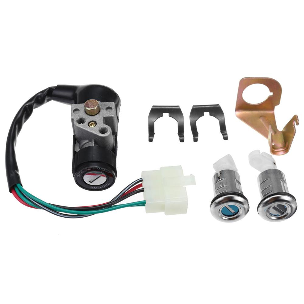 medium resolution of ignition switch key set 5 wires for 150cc roketa jonway moped scooter ignition switch key set on tank 50cc scooter motor diagram