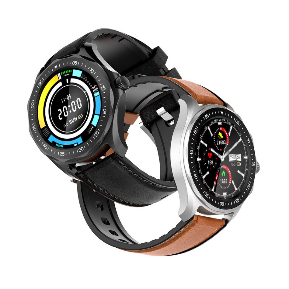 [SpO2 Monitor] BlitzWolf® BW-HL3 Full-touch Screen Heart Rate Blood Pressure Monitor GPS Runing Route Track BTV5.0 Smart Watch