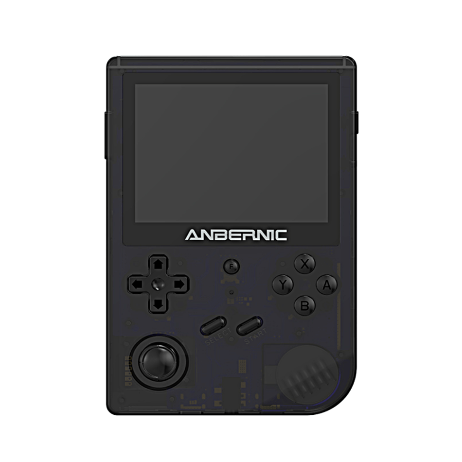 ANBERNIC RG351V 144GB 15000 Games Handheld Game Console for PSP PS1 NDS N64 MD PCE RK3326 Open Source Wifi Vibration Retro Video Game Player 3.5 inch IPS Display