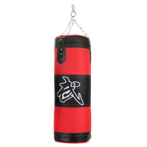 Στα €16.55 από αποθήκη Τσεχίας | Boxing Sandbag Kit Punch Bag Boxing Gloves Steel Chains Bracers Safety Buckle Sanda Equipments