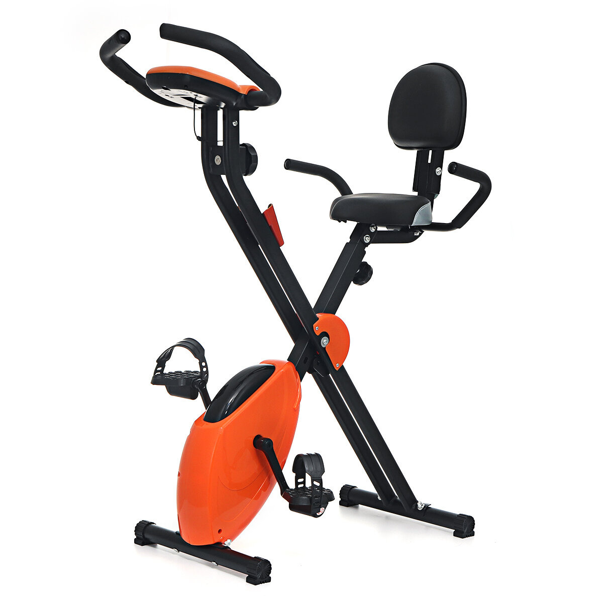 Ευρωπαϊκή αποθήκη   KALOAD Folding Exercise Bike Fitness Cardio Training Sports Cycling Spinning Bike Workout Equipment