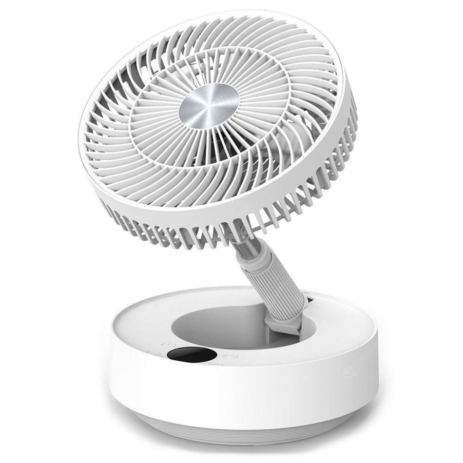 Edon E908 Folding Electric Purification Fan Air Cooling Fan from Xiaomi Youpin Humidification Magnetic Remote Control 5 Wind Speed USB Charging