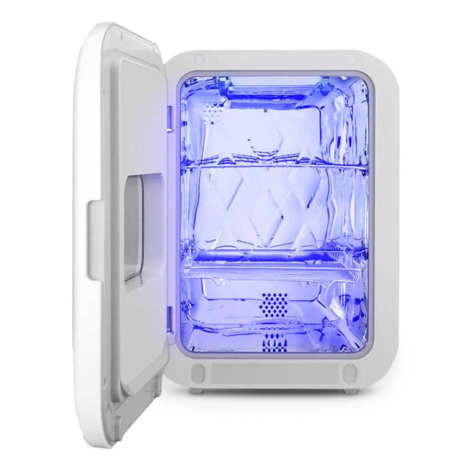 Smartda UV Desktop Disinfection Cabinet Ozone Lamp Sterilization Bowl Tableware Toothbrush Sterilizer COD