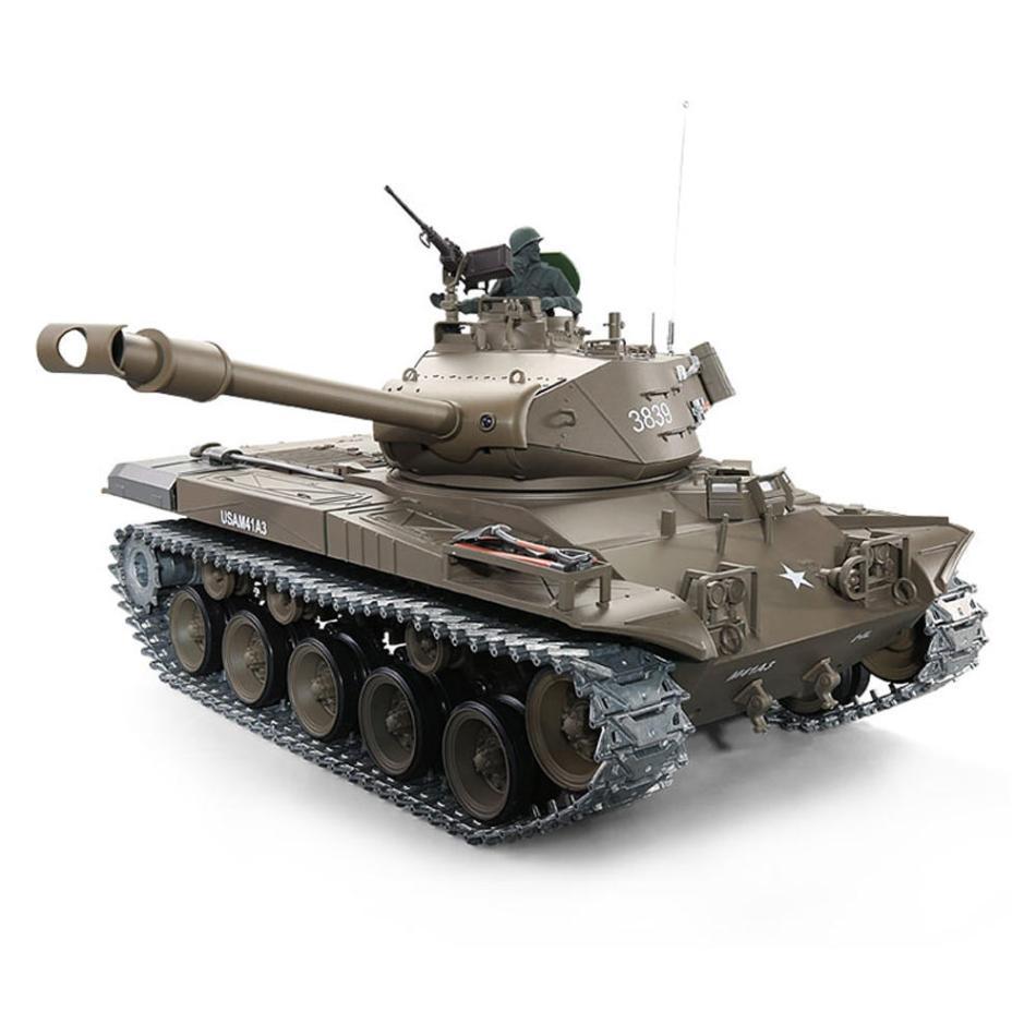 Heng Long 1/16 3839-1 2.4G U.S. M41A3 Wacker Bulldog RC Tank 6.0 Version