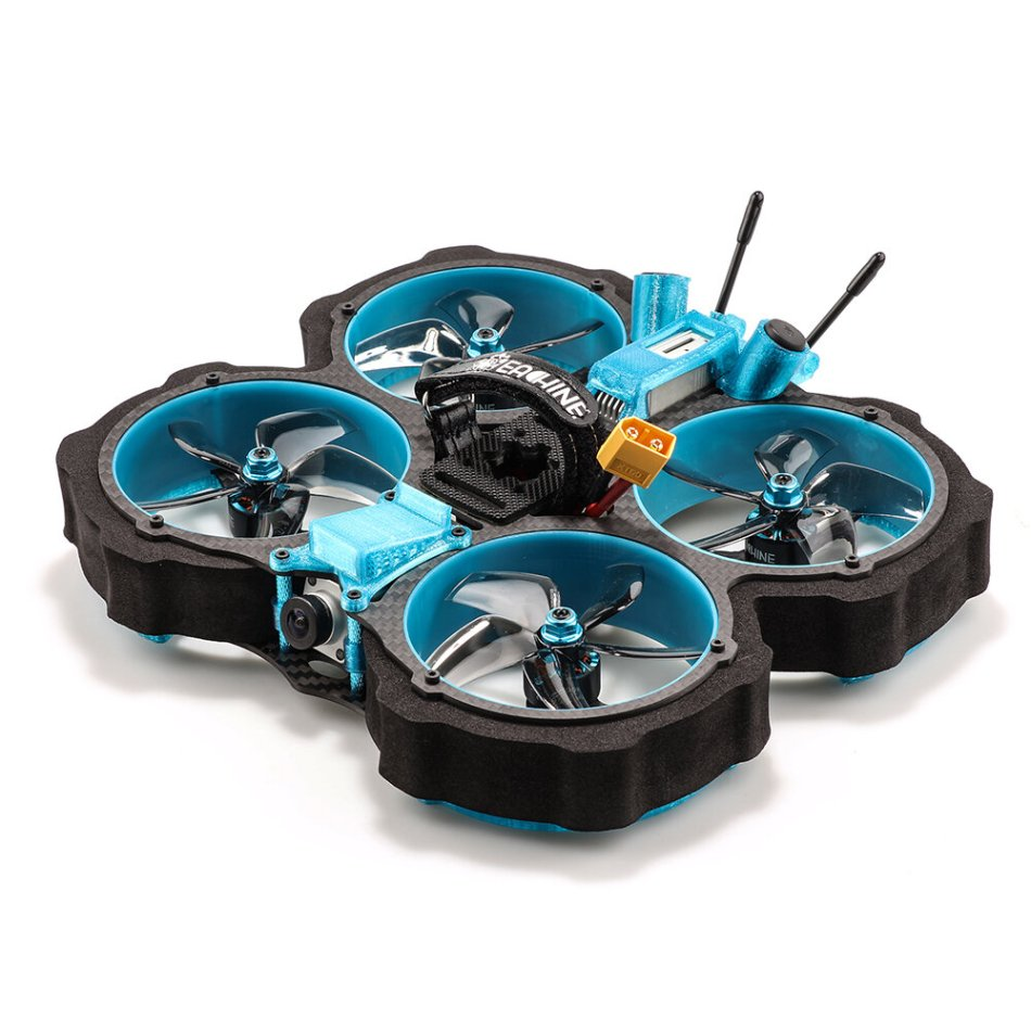 Eachine Cvatar 142mm HD 6S 3 Inch Cinewhoop Duct FPV Racing Drone BNF DJI FPV Air Unit F722 FC 1507 2400KV 35A ESC with EVA Pipeline