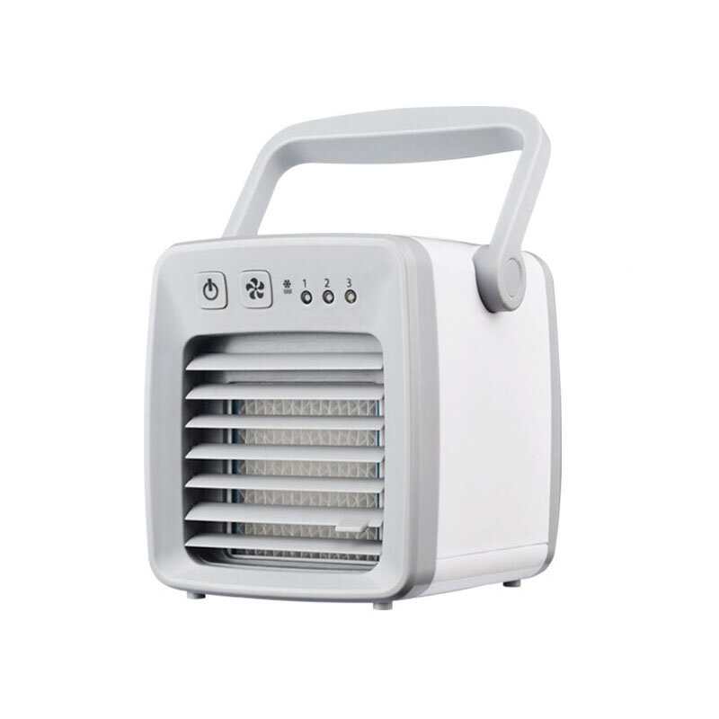 3Life FL001 USB Portable Mini Air Conditioner Cooling Fan Air Cooler Fan Humidifier Purifier for Home Office Travel Use