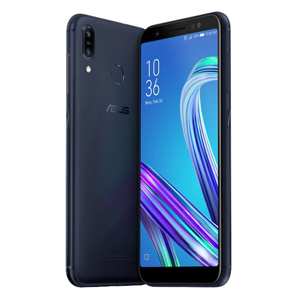 ASUS ZenFone Max (M1) ZB555KL Global Version 5.5 inch HD+ 4000mAh Android 8 13MP+8MP Dual Rear Cameras 2GB 16GB Snapdragon 425 Quad Core 4G Smartphone