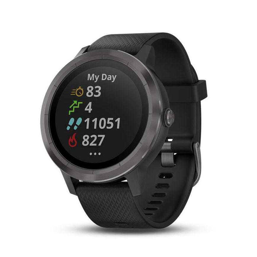 "GARMIN Vívoactive 3 1.2"" Screen GPS 5ATM Waterproof Sport Smart Optical Heart Rate Monitor Pedometer Compass Altimeter Fitness Smart Bracelet"