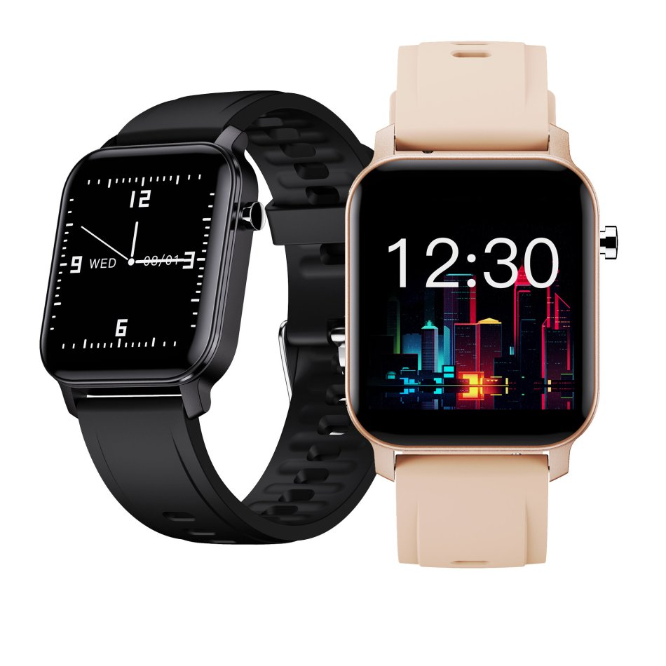 [bluetooth 5.0]Kospet M2 1.4 Inch 320*320px Full Touch Screen Heart Rate Blood Oxygen Monitor Breathe Training Customized Watch Face IP68 Waterproof Smart Watch