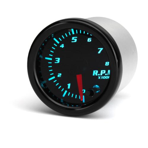 small resolution of universal 2 inch 52mm tachometer tach rpm gauge digital 7 color led display car meter cod