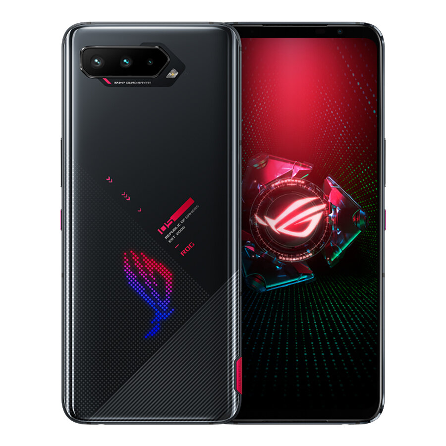 ASUS ROG Phone 5 ZS673KS Global Version 12GB 256GB Snapdragon 888 6.78 inch 144Hz Reflash Rate NFC Android 11.0 6000mAh 5G Gaming Smartphone