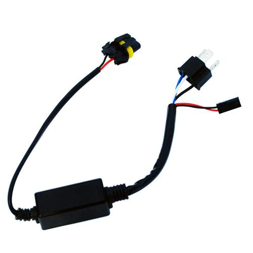 small resolution of motorcycle h4 headlight telescopic lamp control line high and low hid 12v wiring harness controller diagram hid wiring harness
