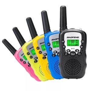 Στα 18€ και με 4 τμχ μαζί   4Pcs Baofeng BF-T3 Radio Walkie Talkie UHF462-467MHz 8 Channel Two-Way Radio Transceiver Built-in Flashlight