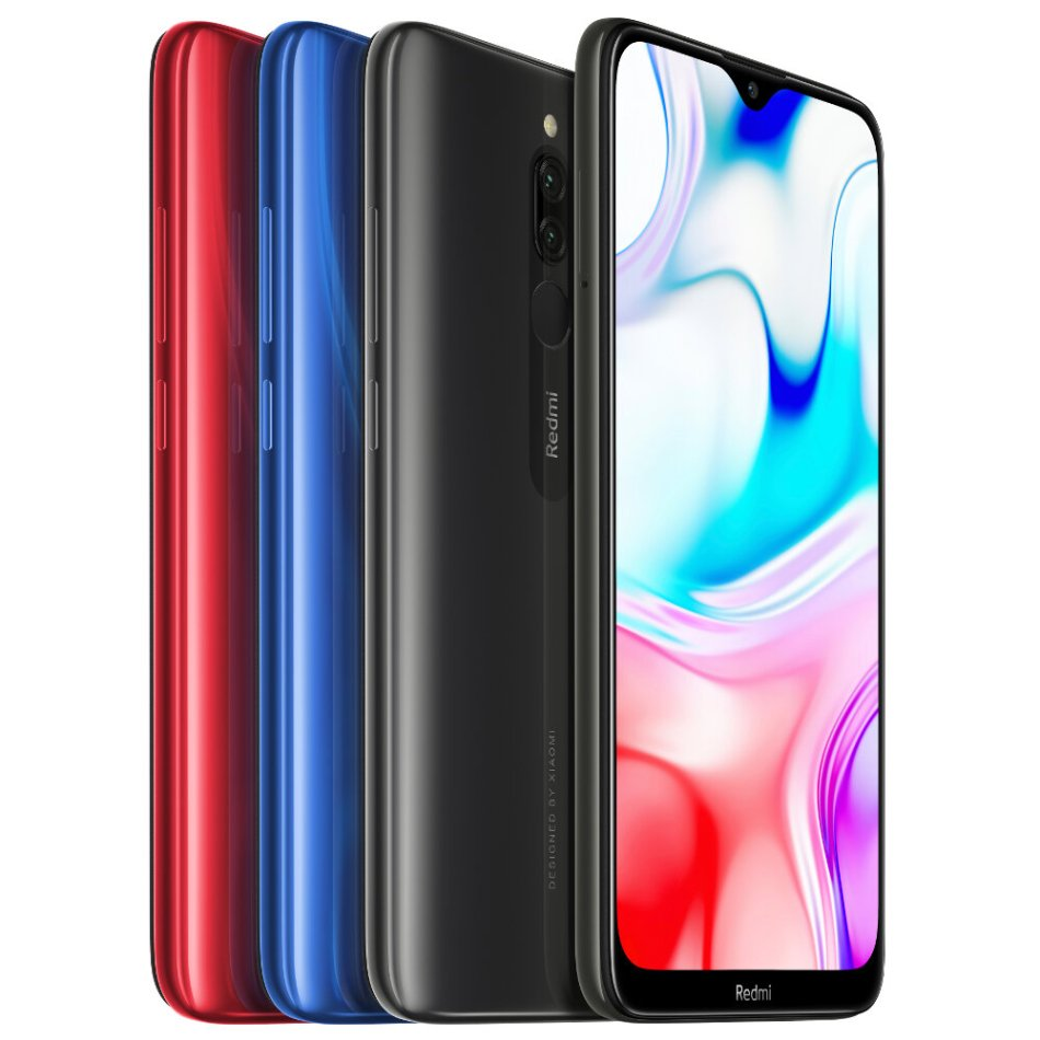 Xiaomi Redmi 8 Global Version 6.22 inch Dual Rear Camera 3GB 32GB 5000mAh Snapdragon 439 Octa core 4G Smartphone