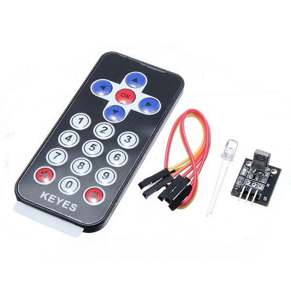 Infra Radio Remote Control Transmitter Receiver With Pic