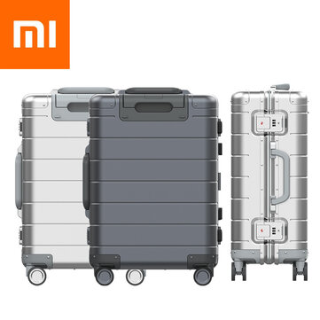 XIAOMI 2nd Generation 20 Inch Metal Suitcase All Aluminum Alloy Trolley Case Universal Wheel Travel Boarding Luggage