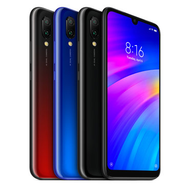 £153.01 Xiaomi Redmi 7 Global Version 6.26 inch Dual Rear Camera 3GB RAM 64GB ROM Snapdragon 632 Octa core 4G Smartphone Smartphones from Mobile Phones & Accessories on banggood.com