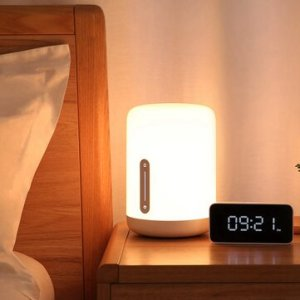 Ευρωπαϊκή αποθήκη | Xiaomi Mijia MJCTD02YL Colorful Bedside Light Table Lamp 2 bluetooth WiFi Touch APP Control Apple HomeKit Siri
