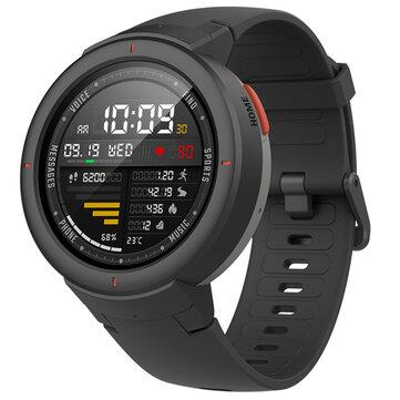 Original Xiaomi Amazfit Verge International AMOLED IP68 bluetooth Calling GPS+GLONASS Smart Watch Black