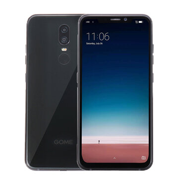 GOME U9 6.18 Inch FHD+ Notch Display 3160mAh Face Unlock 6GB RAM 64GB ROM Helio P23 Octa Core 2.5GHz 4G Smartphone