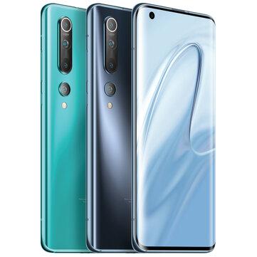 Xiaomi Mi10 Mi 10 5G Global Version 108MP Quad Cameras 8K Video Recording 8GB 128GB 6.67 inch 90Hz Fluid AMOLED Display 30W Fast Charge Wireless Charge WiFi 6 NFC Snapdragon 865 5G Smartphone