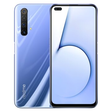 Realme X50 5G CN Version 6.57 inch FHD+ 120Hz Refresh Rate NFC Android 10.0 4200mAh 64MP Quad Rear Cameras 6GB 64GB Snapdragon 765G SmartphoneSmartphonesfromMobile Phones & Accessorieson banggood.com