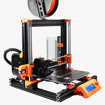 Dotbit Cloned Prusa I3 MK3 Bear Full Kit 3D Printer 2040 SLOT Aluminum Profiles Kit with MK52 Magnetic Heated Bed Set/Einsy Board