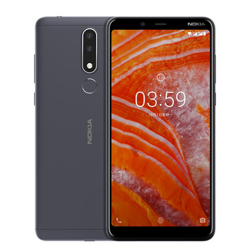£111.88 NOKIA 3.1 Plus Global ROM 6.0 inch Fingerprint 3GB RAM 32GB ROM Helio P22 Octa core 4G Smartphone Smartphones from Mobile Phones & Accessories on banggood.com