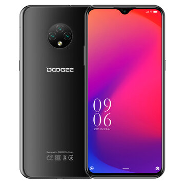 DOOGEE X95 Global Version 6.52 inch Android 10 4350mAh Face Unlock 13MP Triple Rear Camera 2GB 16GB MT6737V 4G Smartphone Mobile Phones from Phones & Telecommunications on banggood.com