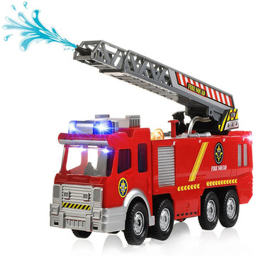 spray water gun firetruck