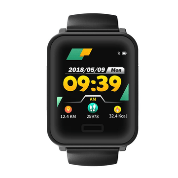 Bakeey E33 1.3' ECG Heart Rate Monitor Long Standby Detachable Strap Sport Mode Message View Smart Watch